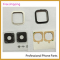 Original Back Camera Glass Lens For Samsung Galaxy Note 4 N910 N910F Rear Camera Glass Circle Cover with Adhensive,Free Shipping