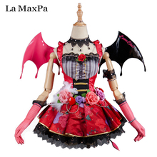 La MaxPa Lovelive love live Despertar koakuma Maki Nishikino cosplay Japanese anime costume girls mujeres anime demon Idolatrado
