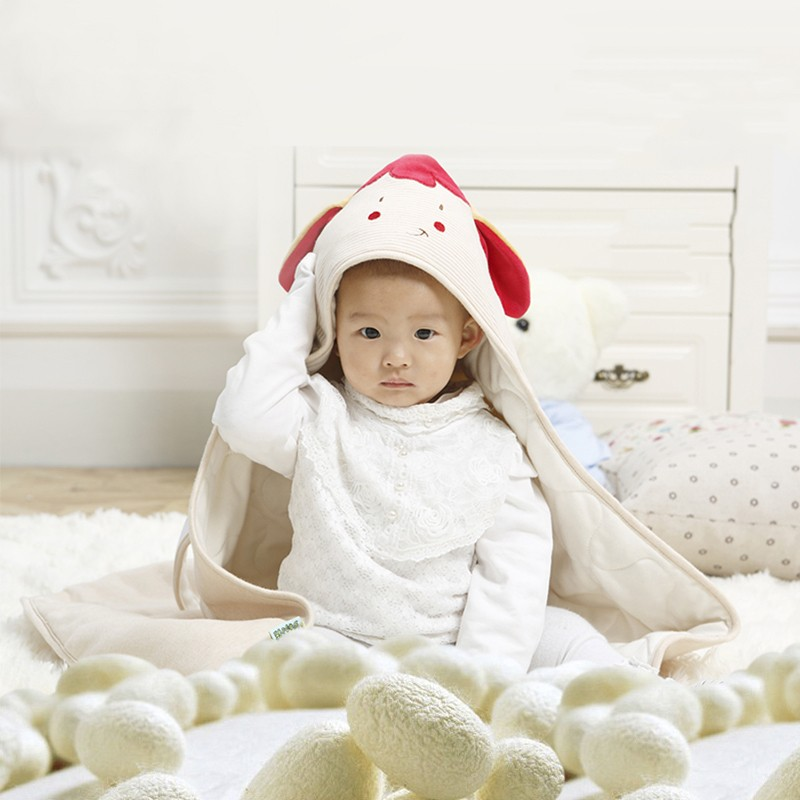 Baby Wrapped Blanket Warm Care (6)