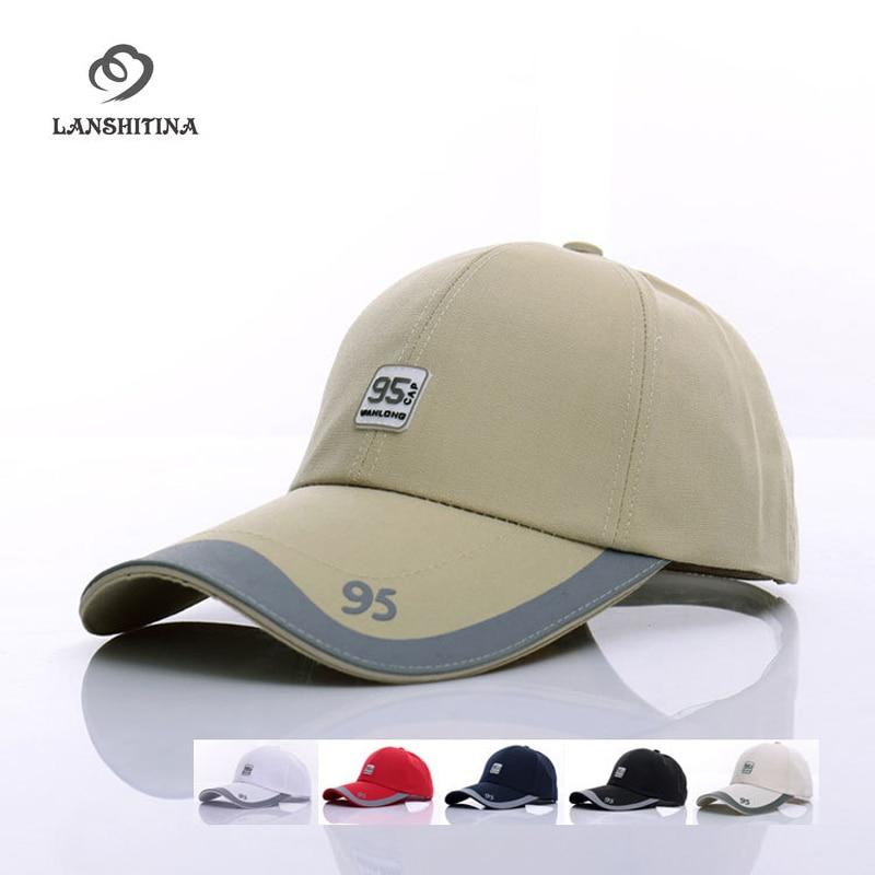 6 Color Cotton Men Snapback Adjustable Baseball Caps Outdoor Sports Golf Ball Cap Male Casual Casquette 95 Visor Sunhat GH-25