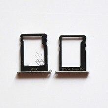 Silver/Black Sim Card Tray +Micro SD Memory Card Tray Slot For Huawei P8 Lite Sim&SD Card Tray Repair parts