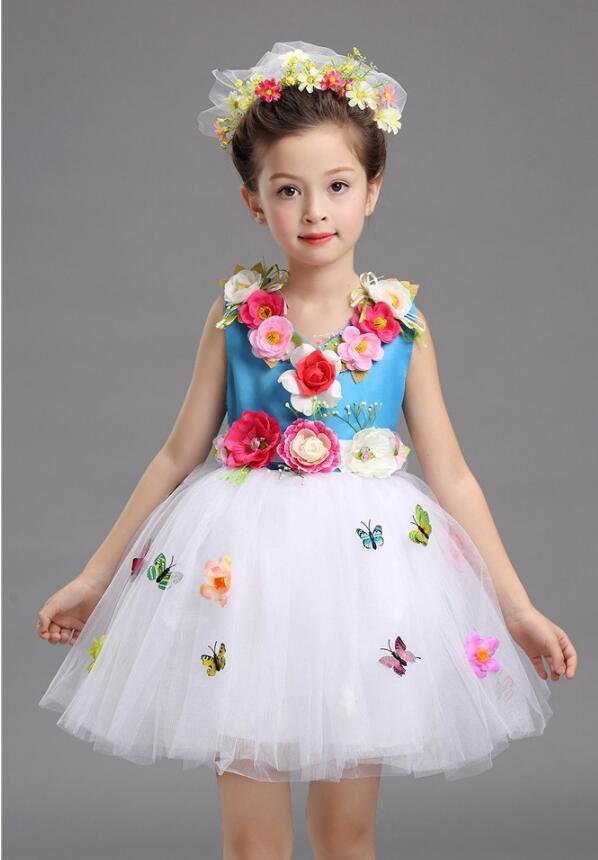 Платье для балета с блестками для девочек; нарядное детское платье для бальных танцев и сценических танцев; детское платье-пачка для выступлений в джазовом стиле - Цвет: Королевский синий