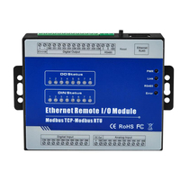 8 Isolated Analog Inputs Module Supports 0~20mA 4~20mA 0 5VDC 0 10VDC Modbus TCP Ethernet Remote IO Module M330T