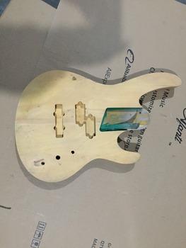 Afanti Music gitara elektryczna DIY korpus gitary elektrycznej (ADK-665) tanie i dobre opinie Beginner Unisex Do profesjonalnych wykonań Nauka w domu LIPA Drewno z Brazylii None Electric guitar Electric guitar body