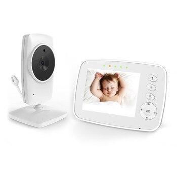 цена на 3.2 Inch Wireless Baby Monitor Security Camera 2 Way Talk Video&audio Night Vision Baby Monitor Electronic Babysitter Babyphone