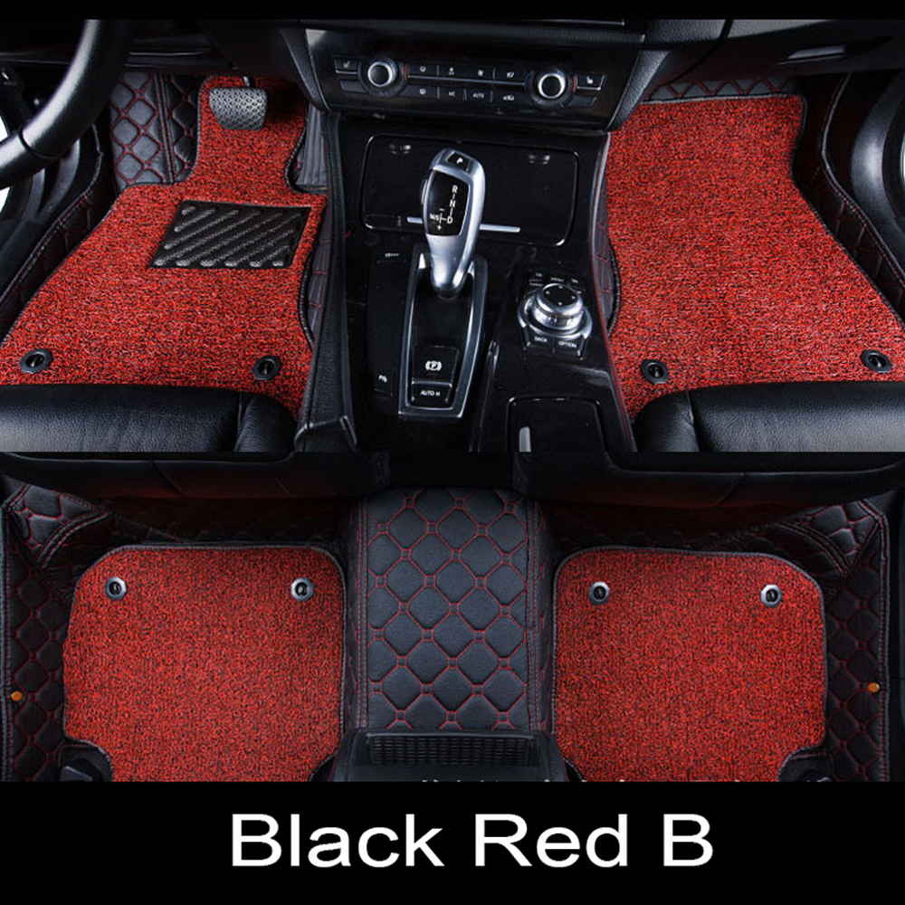 Car floor mats Case for Mercedes Benz A C200 E260 CL CLA G GLK300 ML S350/400 leather Anti-slip car-styling carpet linerCar floor mats Case for Mercedes Benz A C200 E260 CL CLA G GLK300 ML S350/400 leather Anti-slip car-styling carpet liner