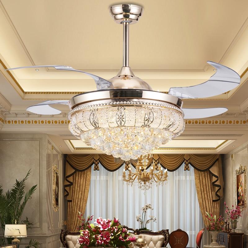 Popular Ceiling Fan Crystal Chandelier-Buy Cheap Ceiling