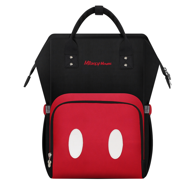 Disney Mickey Baby Diaper Bag Mummy Travel Backpack Large Capacity Maternity Nappy Bags Nursing Bag For Baby Stroller Wet Bag цена и фото