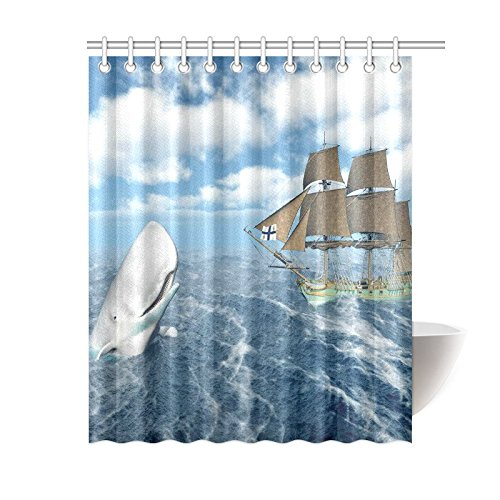 Fantasy Sea Ocean Home Decor, Whale Pirate Ship Boat Polyester ... on peacock shower curtain sets, purple shower curtain sets, window shower curtain sets, holiday shower curtain sets, bathroom accessories, animal prints shower curtain sets, country style shower curtain sets, bathroom beach sets, bathroom bedroom sets, beach shower curtain sets, bathroom soap sets, bathroom floor sets, wildlife shower curtains sets, valance shower curtain sets, red bathroom sets, bathroom furniture sets, modern shower curtain sets, snowman shower curtain sets, shower curtain and towel sets, red shower curtain sets,