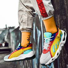 2019 Spring Autumn Fashion Women Running Shoes Casual Breathable Women Platform