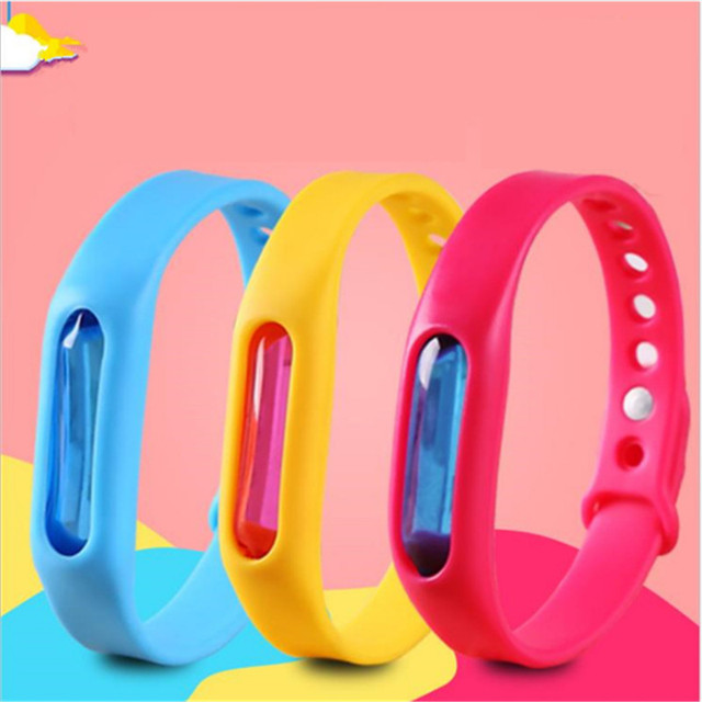 Wrist Band Mosquito and Insect Bugs Repellent