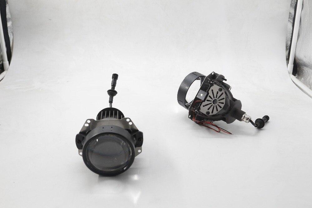 High Quality Super Bright SANVI Bi LED Projector Lens LED Headlight Hi Lo Beam Car styling 35W 5500K Retrofit Kit Auto Lighting