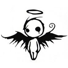 цена на Auto Sticker -Angel baby-Die Cut Vinyl Decal Bumper Sticker For Windows, Cars, Trucks, Laptops 11.5cm*15cm