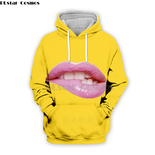 PLstar Cosmos Emoji Ahegao funny lovely Kawaii 3D Hoodies/Sweatshirt long sleeve Men Women Newest streetwear Harajuku fashion-19