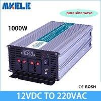 Mkp1000 122b хит продаж! автономный немодулированный синусоидальный сигнал 1000 Вт Инвертор 12 Вольт 220 вольт инвертор, 1000 Вт солнечный инвертор Invt и