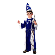 M-XL Free shipping Childrens Halloween Costumes Harry Potter Costume Boys magician Kids Cosplay
