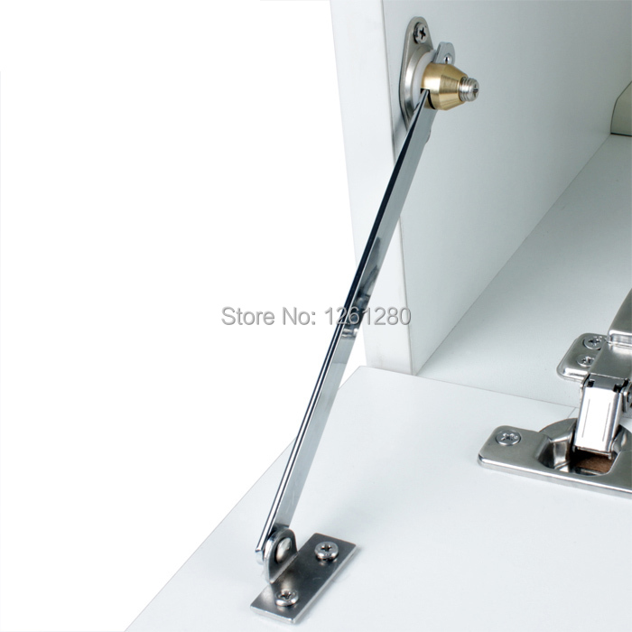 free shipping furniture hinge Cupboard door support rod cabinet slide position rod connecting rod house hardware bracket fitting купить недорого в Москве