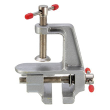 1Pc Mini Aluminum Miniature Bench Table Swivel Lock Clamp Vice Craft Jewelry Hobby Vise