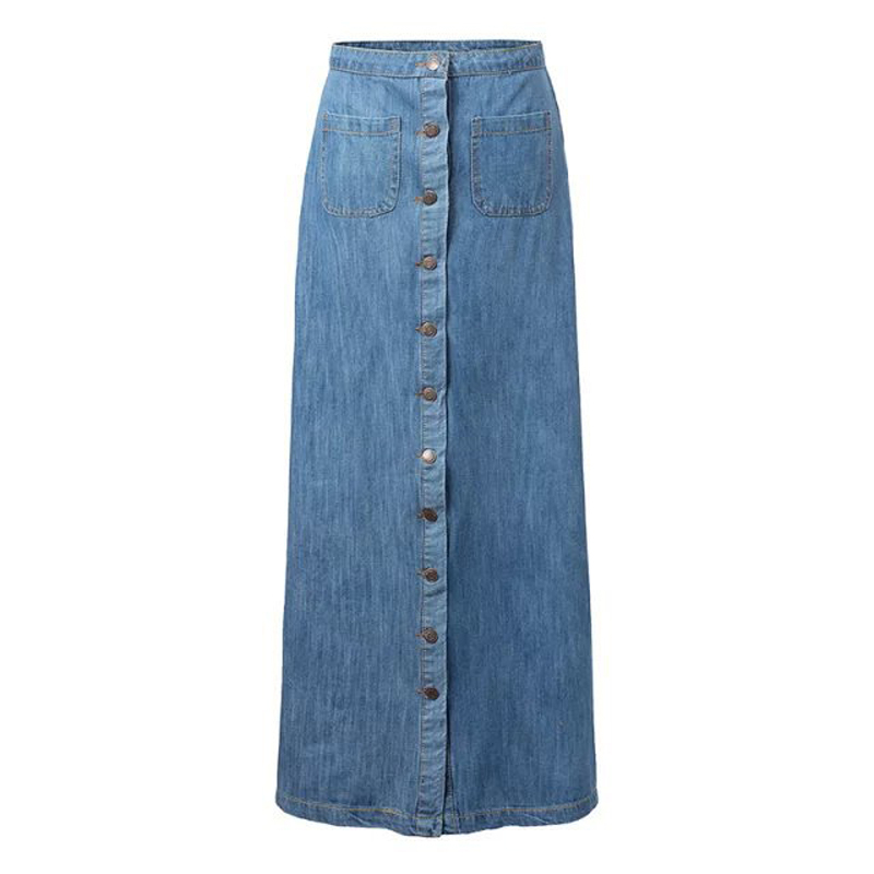 Online Buy Wholesale denim straight skirt from China denim ...