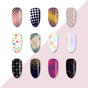 Image 4 - BORN PRETTY Nail Stamping Plates Maple Leaf  Design Stainless Steel Rectangle Nail Stamp Stencils Pattern