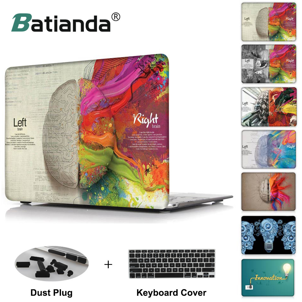 Batianda Crystal Laptop Case Cover For Apple MacBook Air Pro Retina 11 12 13 15 for New Pro 13 15 inch with Touch Bar 2016 &2017 электрический чайник polaris pwk 1719cgl