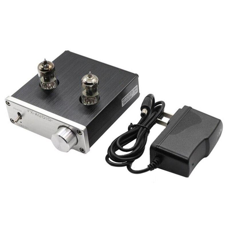 TUBE de FX-AUDIO-01 amplificateur de Tube de préampli biliaire tampon biliaire 6J1 amplificateur de préamplificateur HIFI DC 12 V amplificateur professionnel