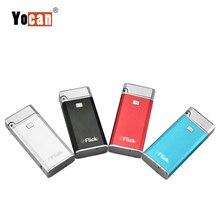 Yocan Flick kit 2 w 1 zestawy startowe do e papierosów gruby lśniący połysk odparowalnik atomizera wosk CBD zbudowany w 650mah koncentrat baterii magnetyczny