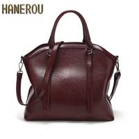 2019Brand Women Bag Fashion Shoulder Bag High Quality Handbag Casual Large Capacity Tote Female Vintage PU Leather Crossbody bag