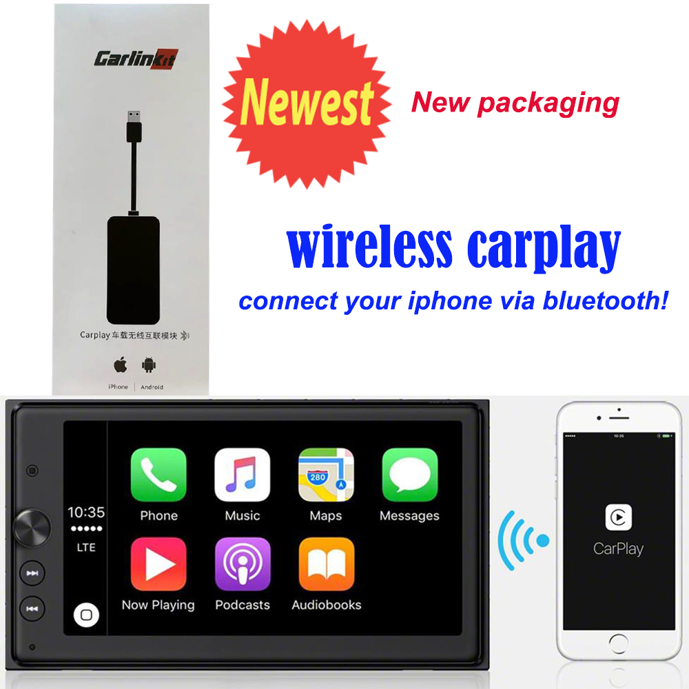 wireless CarPlay Smart Link Mini USB Apple CarPlay Dongle for Android Navigation Player system Stick with