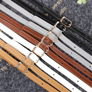 120cm Detachable Replacement Bag Strap Handle Women Girls Leather Shoulder Bag Parts Accessories Buckle Belts Handbag Strap