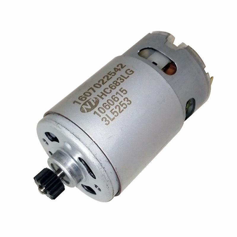 12 teeth 12V DC Motor 1607022542 for BOSCH GSR1200 LI 3601JA89D0 electric drill Screwdriver motor