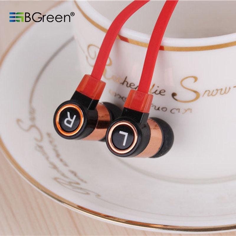 BGreen Stereo In-Ear fülhallgató mobiltelefonhoz MP3 MP4 lejátszó - Hordozható audió és videó