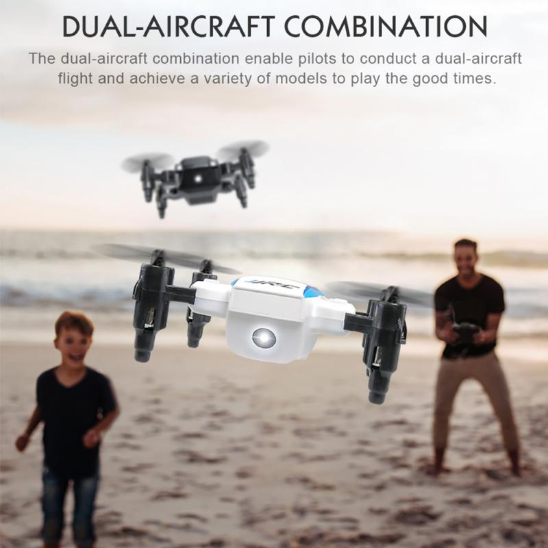 JJR/C H345 JJI JJII Mini 2.4G 4CH 6 Axis Headless Mode Foldable Arm Double RC Drone Quadcopter Christmas Gift