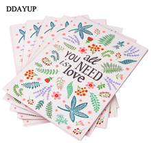 5 Styles Nice gift For Post Card/letter Paper Love Letter Expression Gift Paper Envelopes Office Stationery