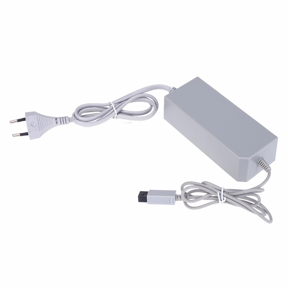 EU Plug AC Power Adapter Charger Ideal replacement Power Cord Adapter for Nintendo Wii Game Console
