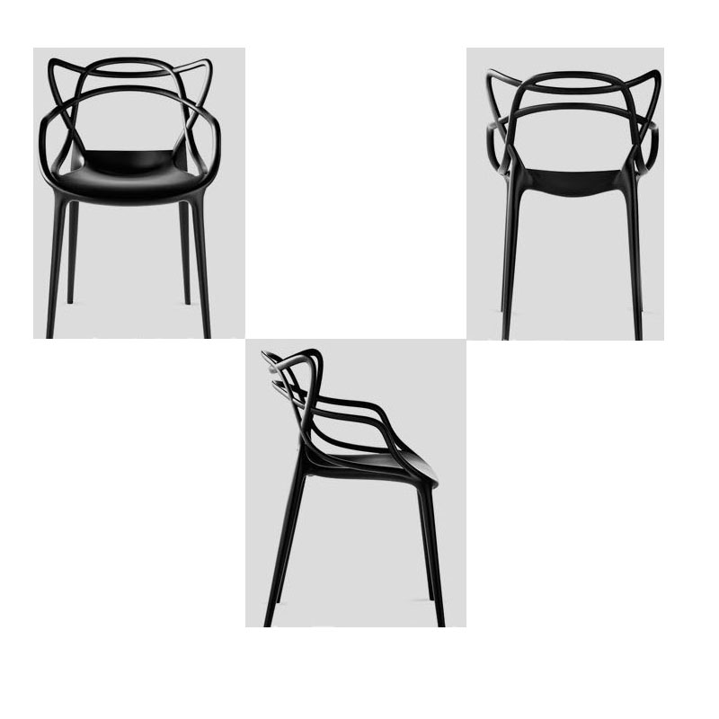 New Creative dining chair rattan chair armchair waiting chair the font b science b font fiction