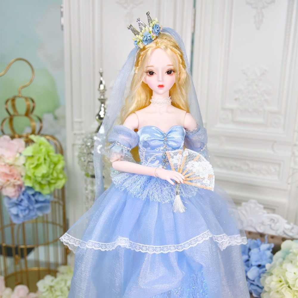Fortuna días 1/3 de la muñeca de bjd 62 cm de cuerpo de piel blanca con ropa zapatos AI YoSD MSD SD Kit de juguete bebé regalo DC Lati
