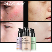 ROREC Hydrating Face Primer Makeup BBCream Instant Pore Eraser Smooth Skin Perfecting Base Foundation Liquid Cream