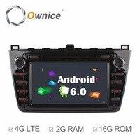 Ownice C500 Octa 8 Core Android 6.0 car dvd gps For Mazda 6 Ruiyi Ultra 2008 2009 2010 2011 2012 wifi 4G Radio 2GB RAM 32G ROM