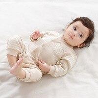 Baby Rompers Boy Girls Summer 2017 Brand Newborn Long Sleeve Cartoon Cotton Sleepwear Pajamas Infant Clothing