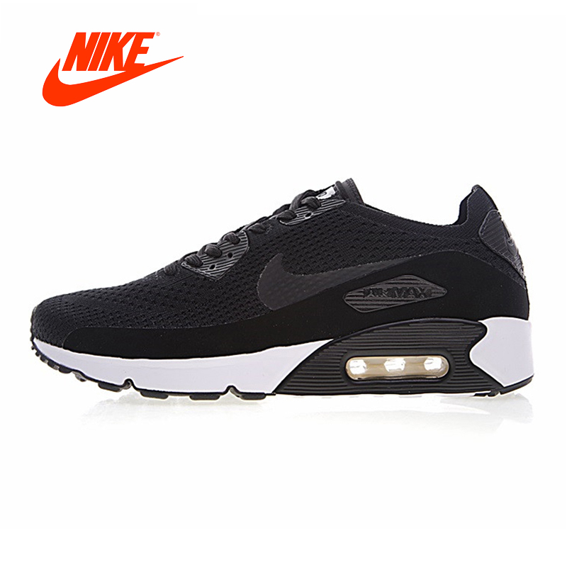 Original New Arrival Authentic Nike Air Max 90 Ultra 2.0 Flyknit Men's Running Shoes Breathable Lightweight Non-slip Outdoor original new arrival authentic nike air max 90 ultra 2 0 flyknit men s running shoes breathable lightweight non slip outdoor