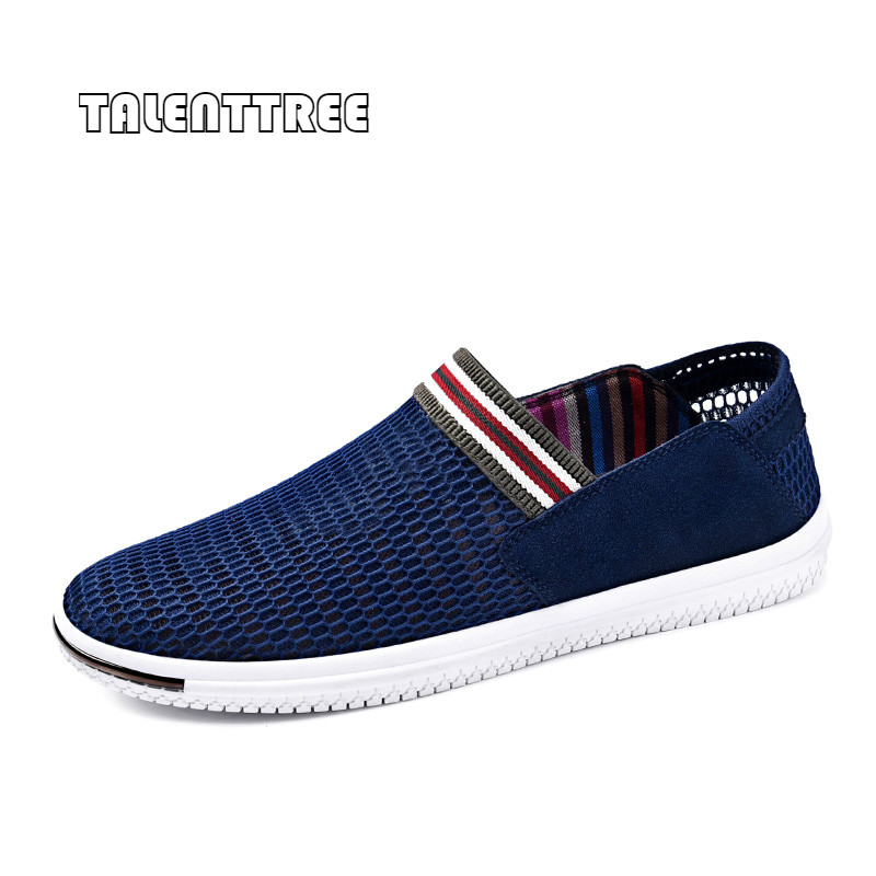 Fashion Summer Shoes Breathable Mesh Men's Casual Shoes Luxury Brand Moccasins Men Loafers Slip on Soft Sole Driving Shoes 44 big size 46 summer breathable mesh loafers men casual shoes genuine leather slip on brand fashion flat shoes soft comfort cool