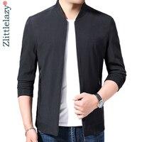 2019 brand new black jacket men casual zipper streetwear veste mens jackets vintage autumn coats jaqueta masculina militar 71609