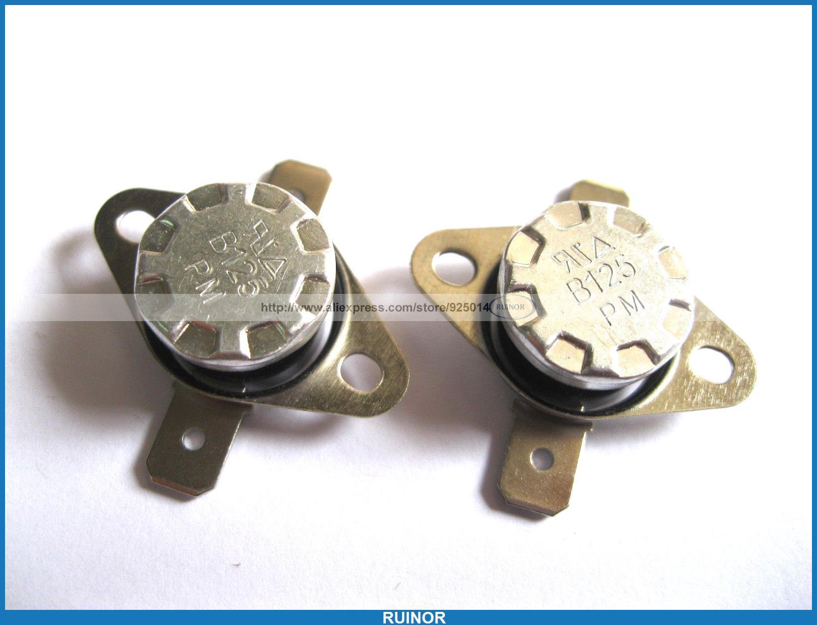 50 Pcs Temperature Switch Thermostat 125Degree N C KSD301