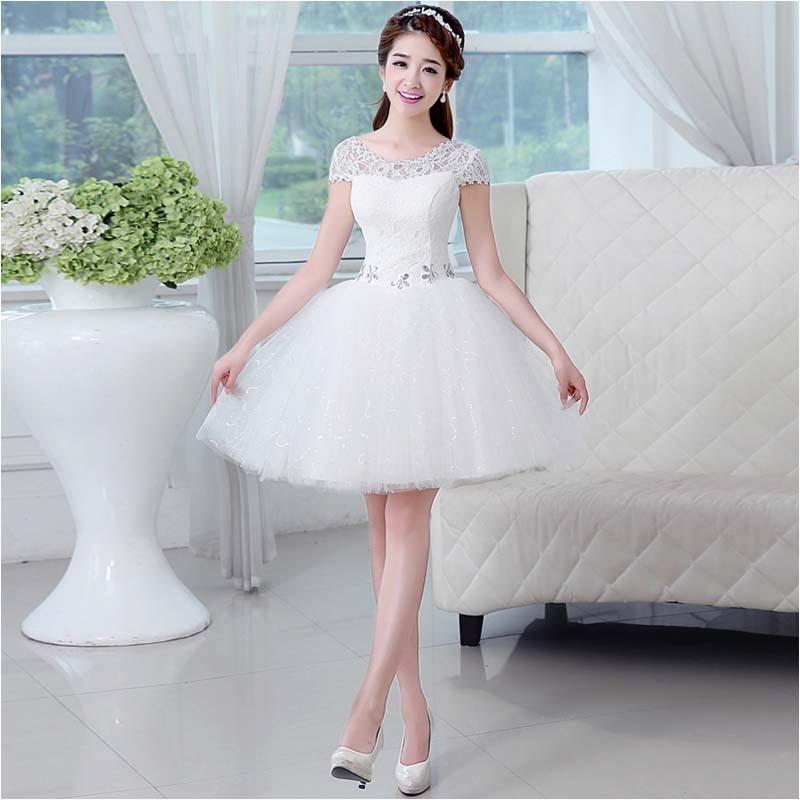 Vestidos para damas de honor blanco