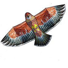"""Высокое качество 1,6 м Орел воздушный змей с ручкой линия воздушный змей игры Птица Китайская Игрушка """"Орел"""" летающие воздушные змеи"""