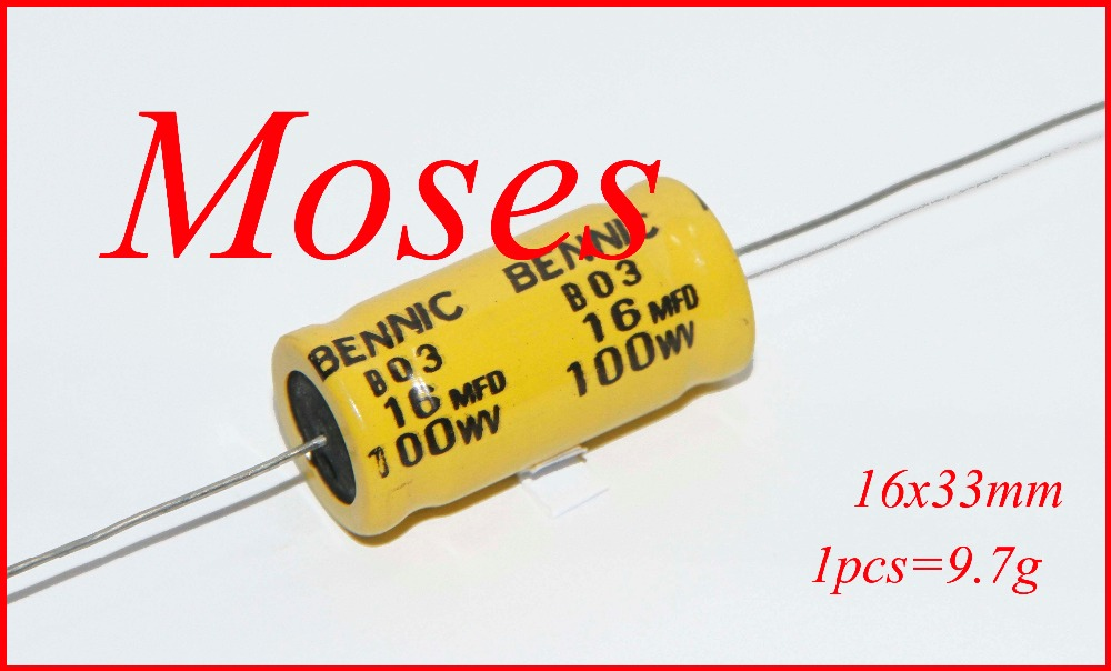 Parts Express 16uF 16uF 500V Polarized Electrolytic Multi-Section Can Capacitor