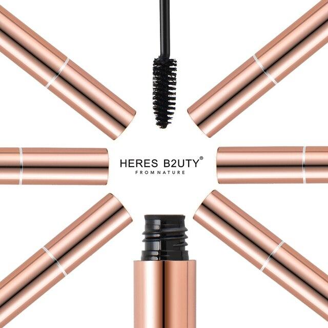 2017 Новый Горячая продать бренд Херес b2uty 3D Волокно Удлиняющая Водонепроницаемый Удлинение Толстые Косметика Черный Тушь для ресниц высокое качество