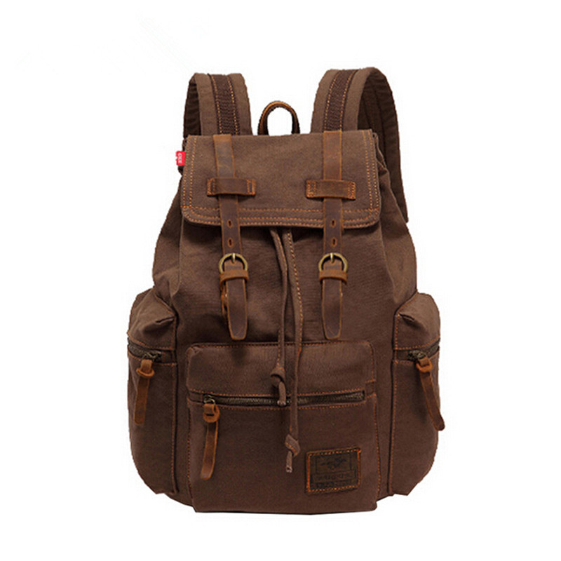 New Brand Fashion Men's Backpack Leisure Canvas Bag Women Large Capacity Travel Backpacks For Teenage Girls School Bag rushed 2016 campus women girls backpack canvas men leisure backpack fashion school sports bag large capacity shoulder travel bag