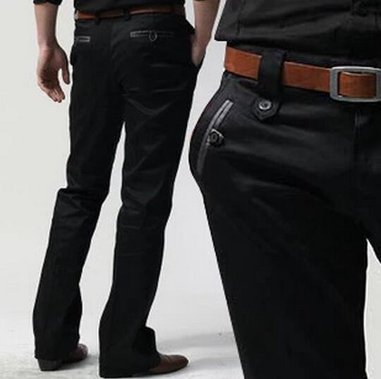 2017 Neue Herrenbekleidung Sommer Klassische Business Casual Micro Ausgestelltes Hosen Male Custom Made Fashion Plus Größe Männer Hosen S-xxl